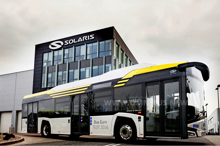 Bus of the Year 2017 Solaris Urbino Electric