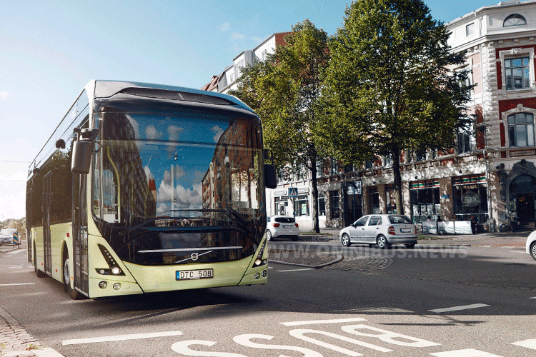 Volvo 7900 electric