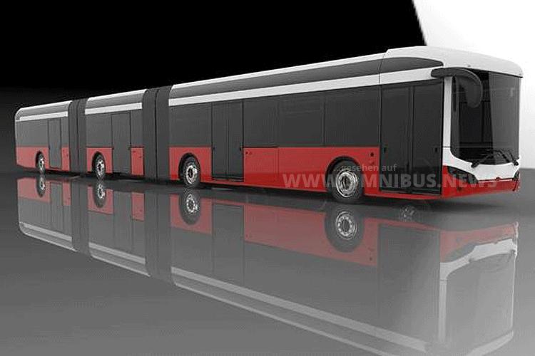 Sileo S24 Doppelgelenkbus