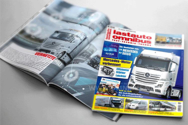 Ab sofort im Handel oder online erhältlich: Die Ausgabe 8 von lastauto omnibus. Foto: ETM Verlag