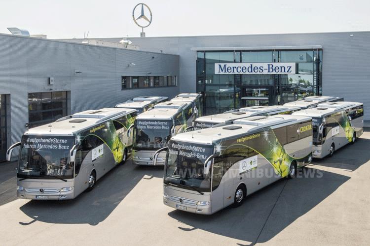 UEFA U19-Europameisterschaft Mannschaftsbusse