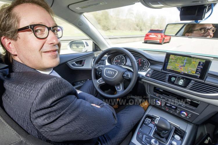 Dobrindt automatisiertes Fahren