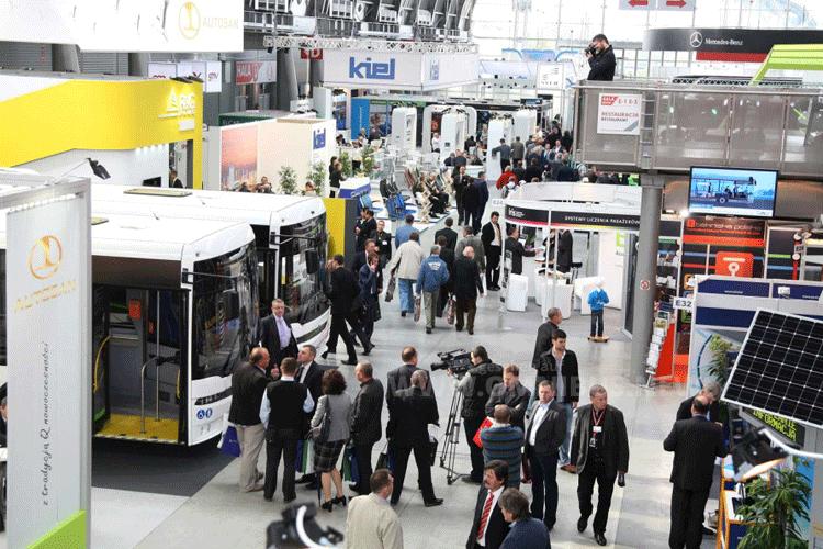 Treffpunkt der Branche für Mittel- und Osteuropa: Die Transexpo. Foto: Transexpo