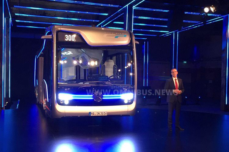 Daimler Future Bus Amsterdam