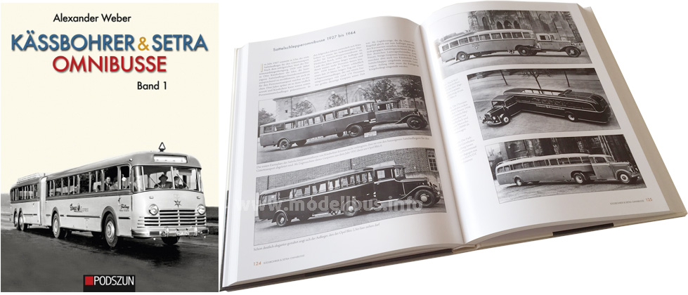 Zwei Band der Kässbohrer-Setra-Firmengeschichte hat der Podszun-Verlag aufgelegt.