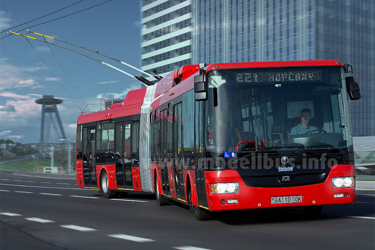 Neue Trolleybusse und Serviceleistung
