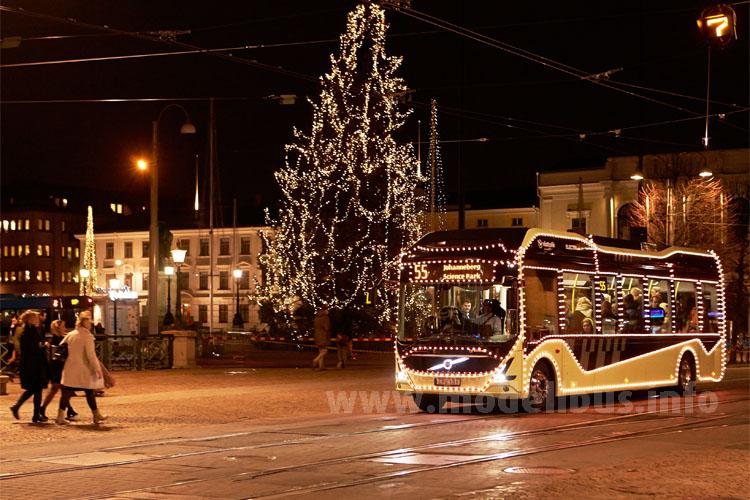 ...in Göteborg im Weihnachtseinsatz!