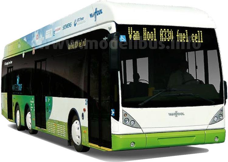 Van Hool wird 21 neue Wasserstoffbusse auf Basis des A330 bauen