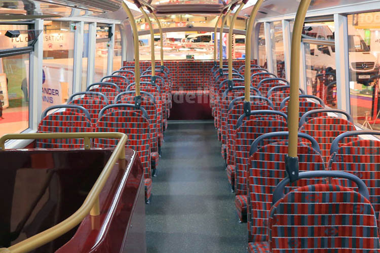 Optisch an den Vorgaben von Transport for London orientiert, aber mit eigener Designlinie.