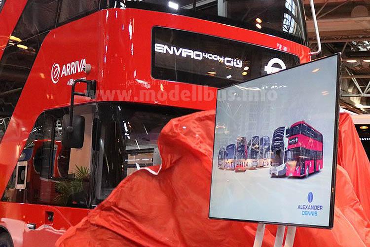 zeigte den neuen Enviro 400 H City, ...