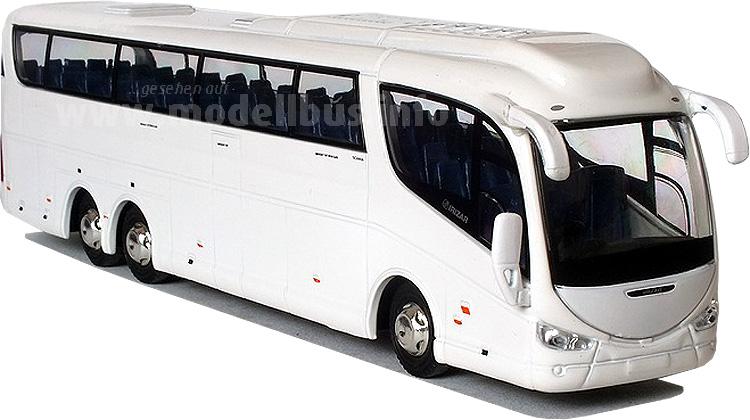 Do it yourself: Eine Lackierung nach Wunsch ist möglich, Oxford Diecast liefert den passenden Modellbus in weiß aus.