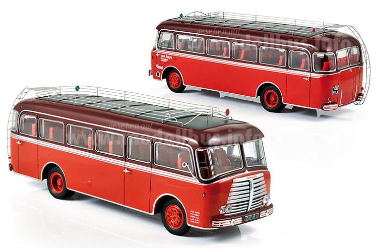 Hommage an einen innovativen Hersteller: Norevs Panhard mit Amiel & Bodoira-Aufbau im Maßstab 1/43.