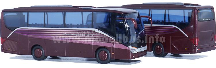 Weltpremiere Setra-Modellbus