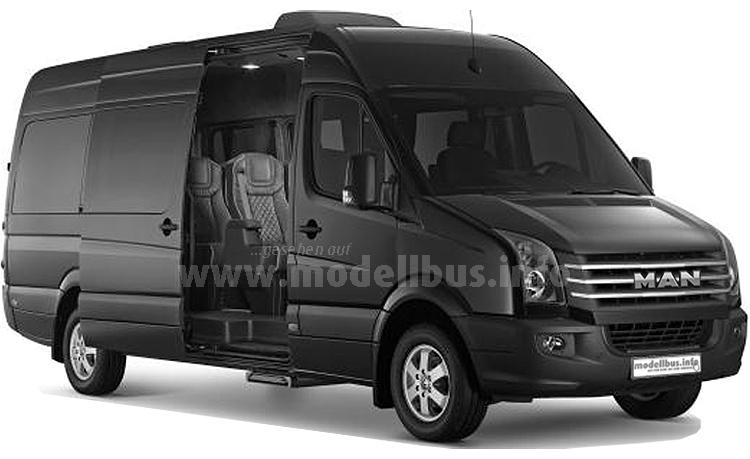 ...ab 2017 neue Wege und könnte auch verschiedene Ausstattungen an Kleinbussen auf TGE-Basis anbieten.
