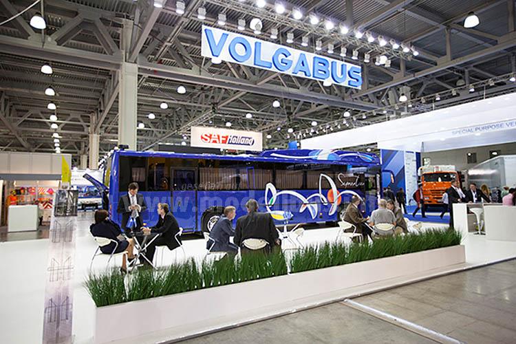Volgabus hat den neuen Serpentine in den Mittelpunkt auf der Comtrans 2015 gerückt.