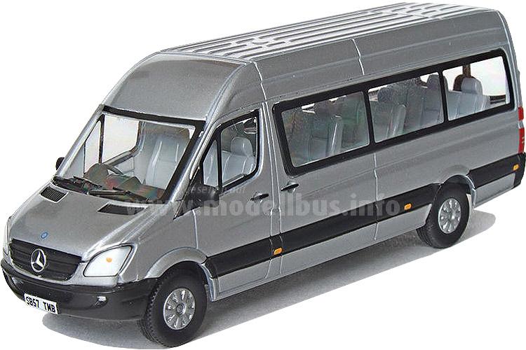 Sozusagen limitiert: Das CMNL-Serienmodell des MB Sprinter Traveliner.