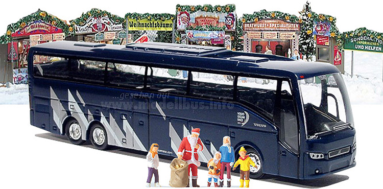 Alle Jahre wieder: Volvo bedankt sich bei Busfahrern.