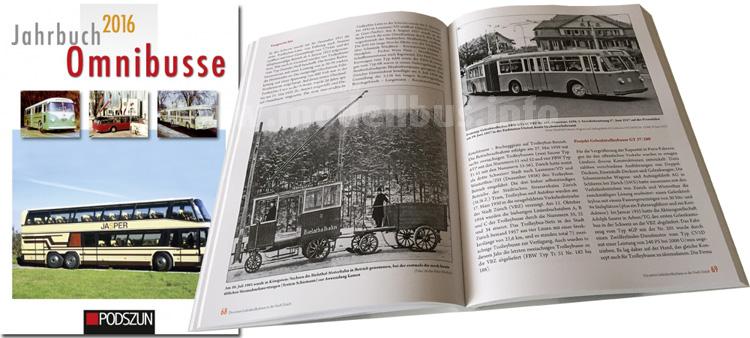 Seit Mitte November im Handel: Das neue Omnibus Jahrbuch aus dem Podszun Verlag.