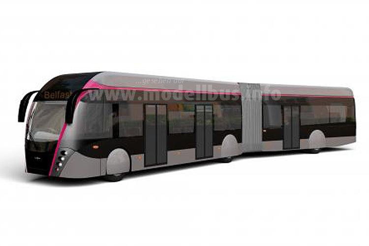 Fährt ab 2018 als BRT in Belfast: Der ExquiCity von Van Hool.