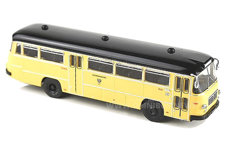 Neue Postbus-Modellbusminiatur