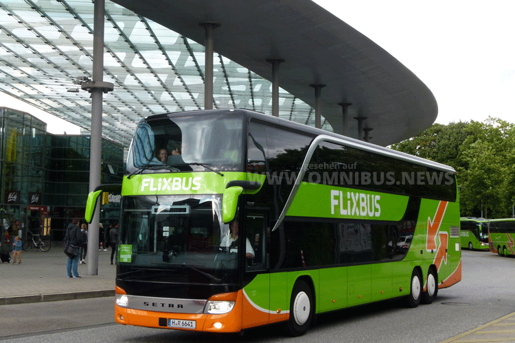 Platz 3: Der ZOB in Hamburg. Foto: FlixBus