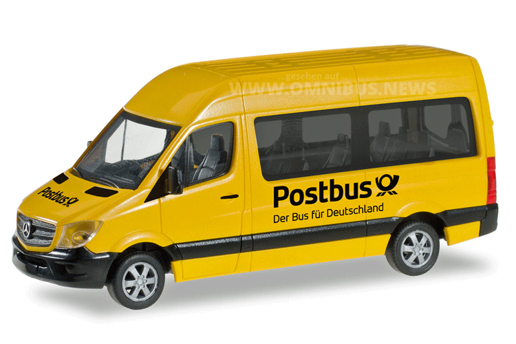 Herpa Postbus Sprinter