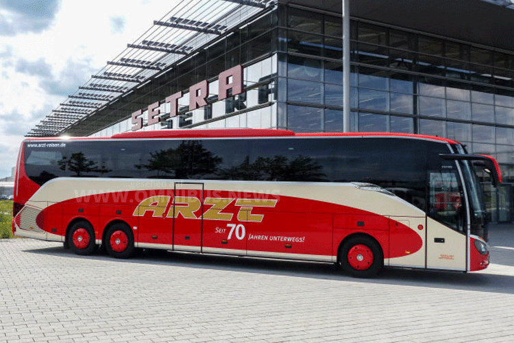 Setra Arzt Reisen Retro Design S8