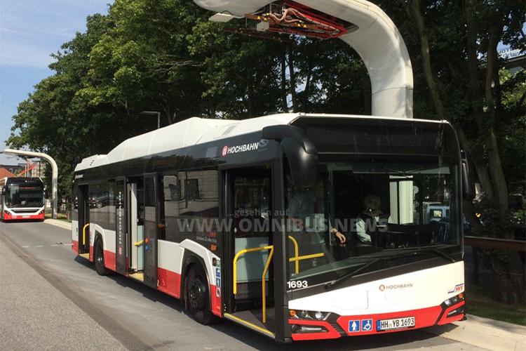 Zehn E-Solaris für Hamburg
