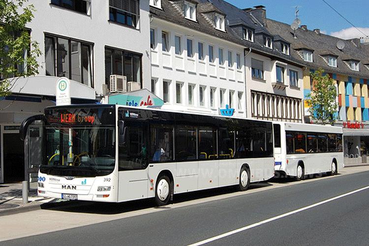 Buszug MAN Hess VWS Siegen