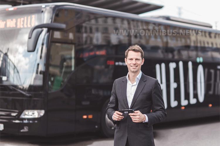 Tobias Hann, Geschäftsführer Hellö