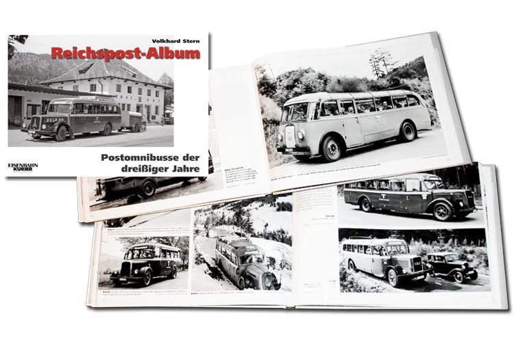 Reichspost-Album mit tollen Bilder. Foto: EK-Verlag/Falkenberg