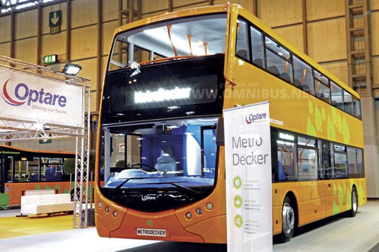 Der MetroDecker von Optare auf der Euro Bus Expo vor zwei Jahren. Foto: Schreiber