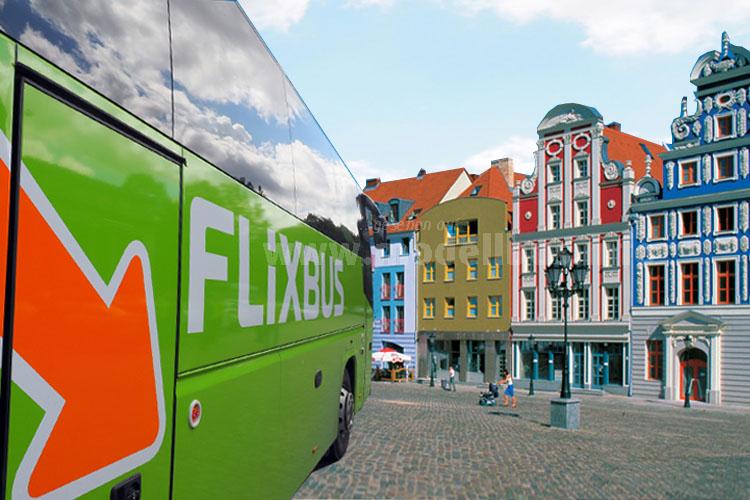 FlixBus expandiert gen Osten: Ab sofort ist Polen im Programm - Start ist die Linie Berlin - Stettin.