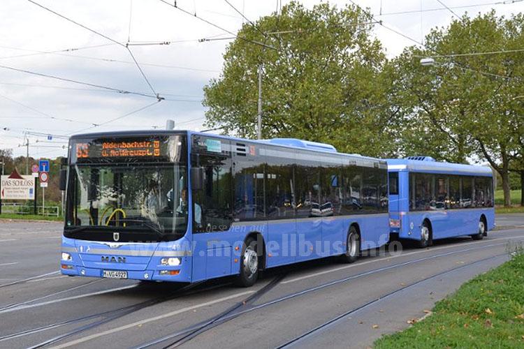 Buszug aus München. Foto: MAN