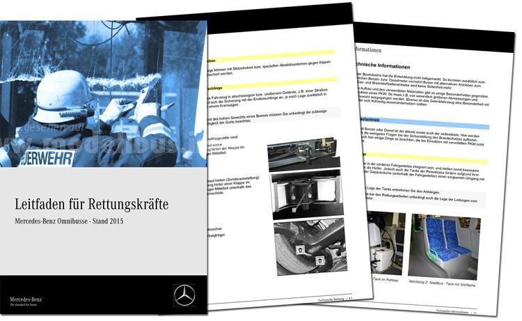 Daimler Buses stellt Rettungshelfer für MB- und Setra ab Baujahr 2000 online zur Verfügung.