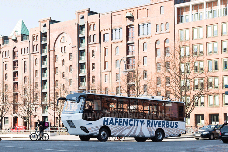 Hafencity Riverbus Hamburg