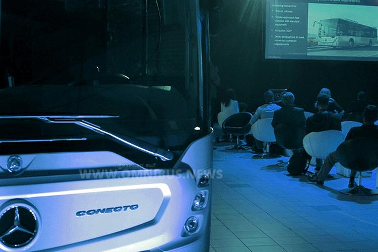 Der neue Conecto - Weltpremiere in Warschau am 5. September 2016. Foto: Daimler