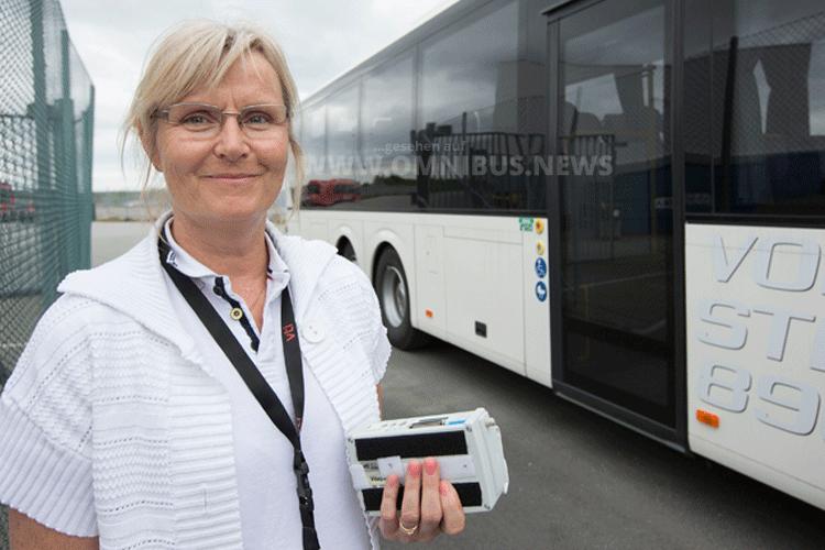 Dr. Anna Anund, Dozentin und Leiterin der Forschung in der Abteilung für Straßenzulassungen beim schwedischen Straßen- und Verkehrsforschungsinstitut VTI