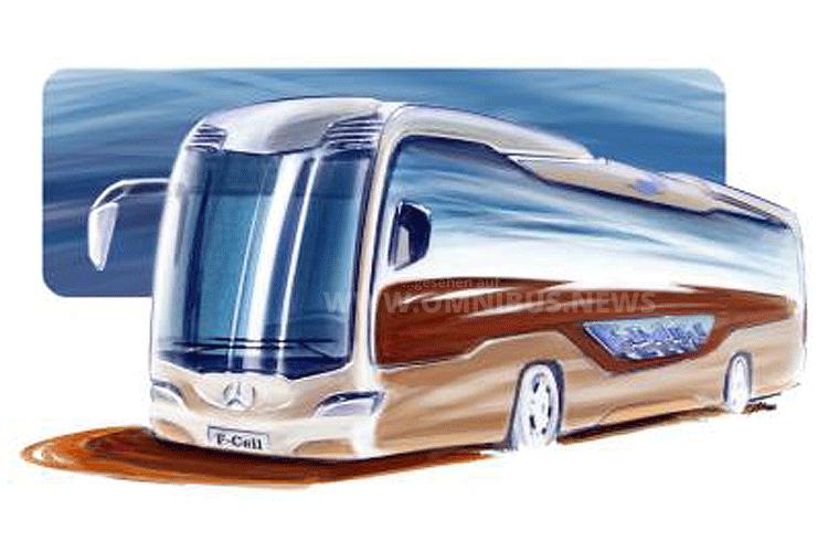 Daimler Mercedes-Benz E & Fuel Cell Bus