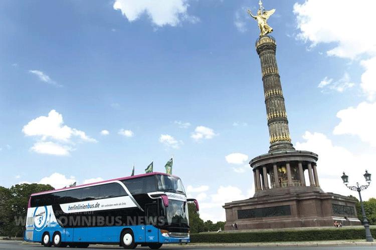 Die Bahn gibt die Fernbussparte BerlinLinienBus auf. Foto: BLB