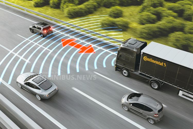 Neues zum unfallfreien Fahren bei Continental. Grafik: Continental