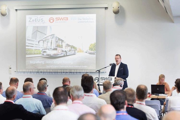 Gut besucht: Die Bonner Tagung zur Elektromobilität. Foto: SWB