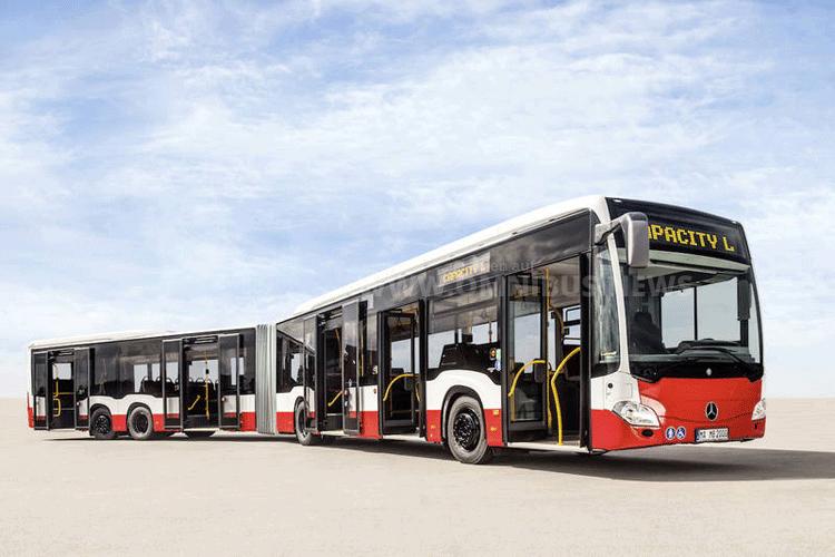 Sechs CapaCity L kommen auf der Metrobus Linie 5 in Hamburg zum Einsatz. Foto: Hochbahn