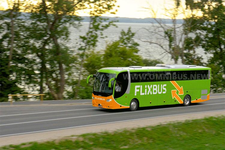 Auch Kleinstädte werden zukünftig von grünen Fernbussen angesteuert. Foto: FlixBus