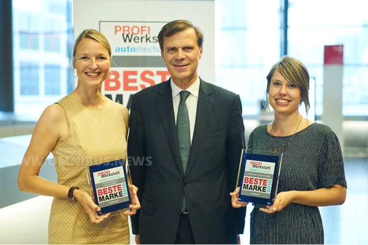 Stefanie Schmidt (Head of Marketing), Pierre Fleck (CEO), Anna Lena Blanck (Public Relations. Foto: Europart