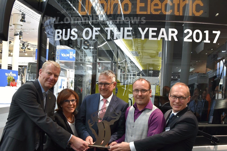 Solaris IAA 2016 Bus of the year