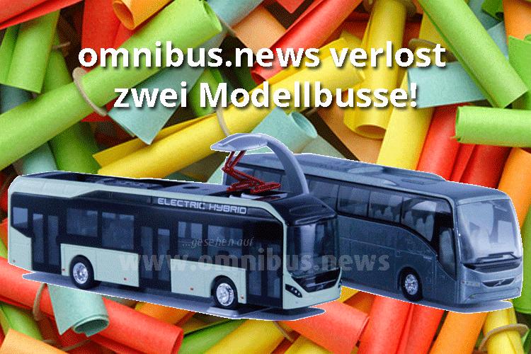 Modellbus-Verlosung