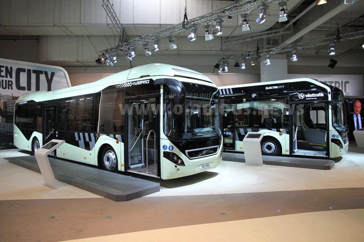 Volvo Elektrobus IAA