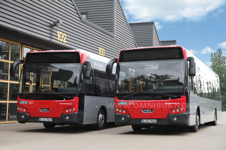 Die Rheinbahn setzt weiter auf Leichtbau-Busse von VDL. Foto: VDL