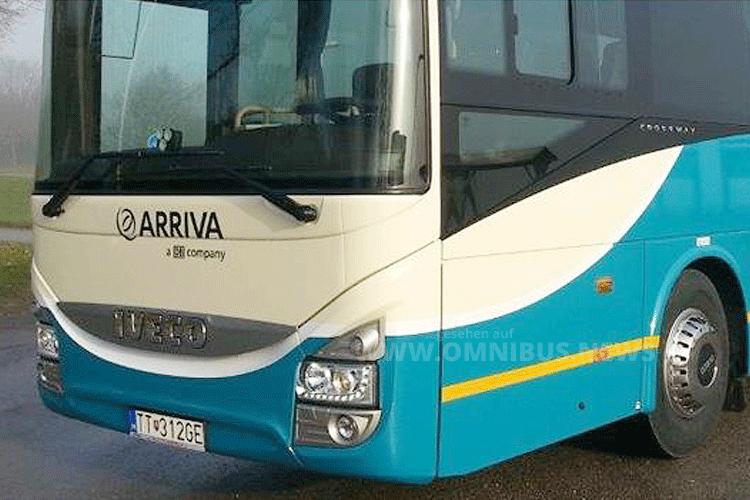 Arriva expandiert in Tschechien. Foto: Arriva